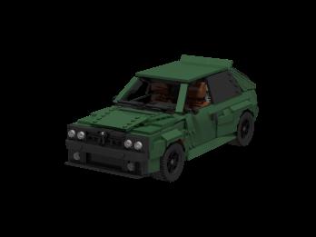 Lancia (Dark green)